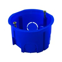 Подрозетник для гипсокартона, диаметр 68 мм