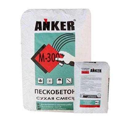 Пескобетон М300 Анкер, 40 кг
