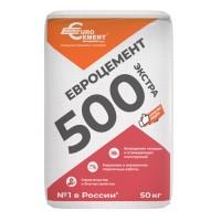 Цемент Евроцемент Экстра М500 Д20, 50 кг