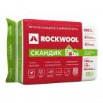 Утеплитель Rockwool Лайт Баттс Скандик 800х600х100 мм 6 плит в упаковке (2,88м2=0,288м3)